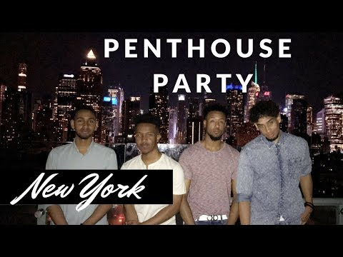 Vlog 3: N.Y.C PENTHOUSE PARTY!!! (NOT CLICK BAIT)