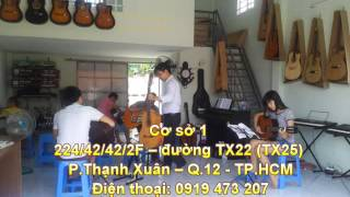 dạy đàn guitar organ piano ukulele tại quận 12, lái thiêu thuận an bình dương