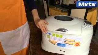 Хлебопечь Mirta BM 2088 - рецепт бородинского хлеба