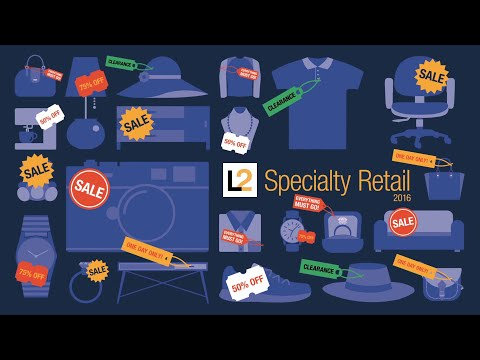 Digital IQ Index® - Specialty Retail 2016