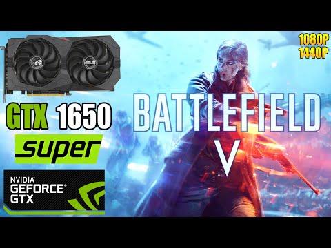 Battlefield V : GTX 1650 SUPER | 1080P \u0026 1440P | Low \u0026 Ultra Settings