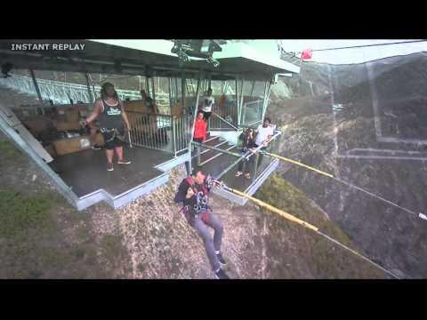 AJ Hackett Nevis Swing, Queenstown - Filmed by AJ Hackett