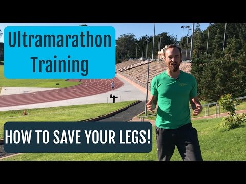 Training For An Ultramarathon | Use This Leg Saving Tip!