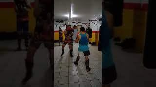 Muay thai sparring CT WARRIORS