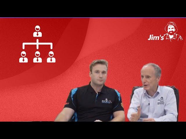 #JIMCLIPS How do you build a clientele?