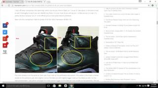 Fake Air Jordan 6 All Star ASW Chameleon Spotted- Quick Tips To Identify Them
