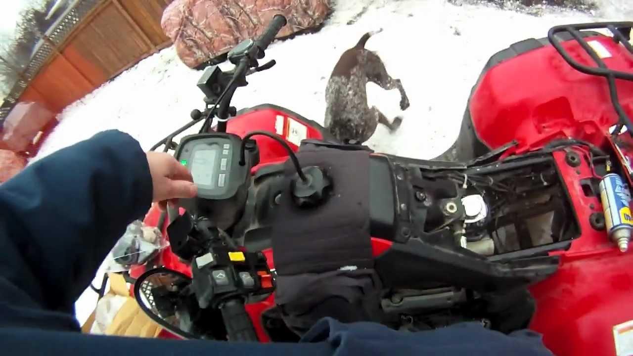 Honda TRX 350 New Carb Install  YouTube
