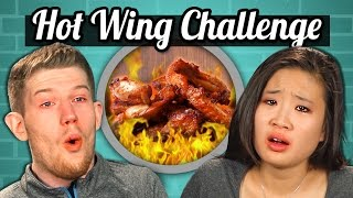 Download ADULTS vs. FOOD - HOT WINGS CHALLENGE Mp3 and Videos