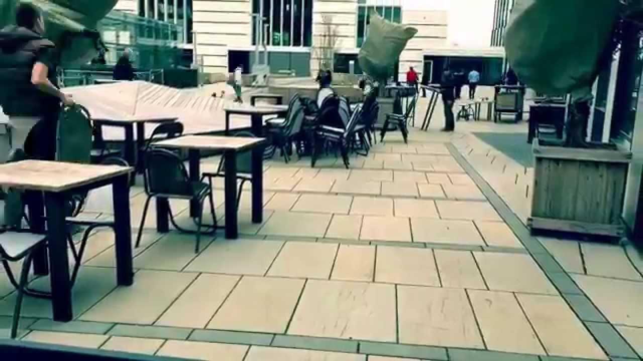 terrassenaufbau sommersaison 2015 #dascampus - youtube