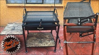 Como hacer una Parrilla Giratoria paso a paso | Homemade Rotating Grill
