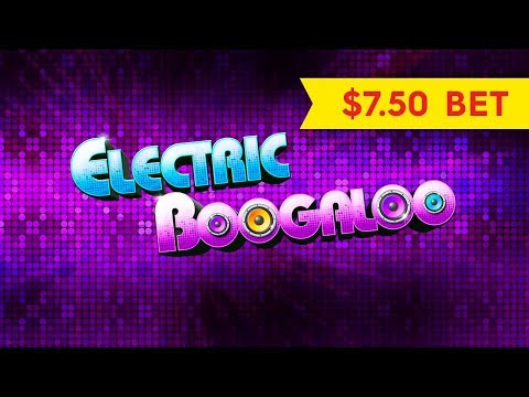 Quick Fire Jackpots Electric Boogaloo Slot - $7.50 Max Bet Bonus! - 동영상