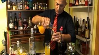 Como hacer un Tequila sunrise
