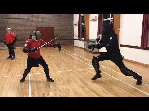 Sword & Buckler Sparring - Esther (AHF) vs Jordan (AOS)