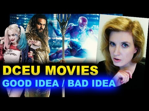 Aquaman 2018, Gotham City Sirens, The Batman, The Flash, Suicide Squad 2 - Beyond The Trailer