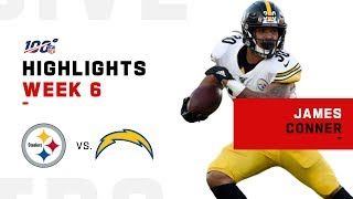 James Conner Has A Night w/ 119 Total Yds & 2TDs | NFL 2019 Highlights
