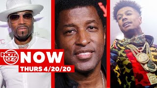 Teddy Riley Vs Babyface Update + Blueface Host Stripper Party Turned Brawl + More !