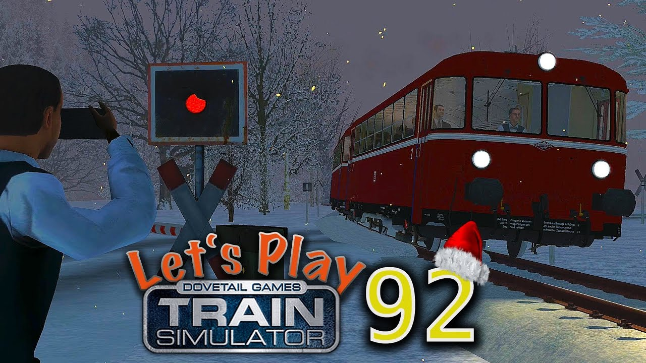 Train Simulator 2017 - Folge 92 - Weihnachten im Rodachtal - VT98 ...