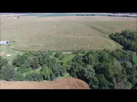 Price Family Farms Aerial Tour - Hancock County, IL