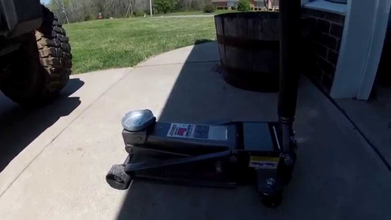 3 ton pittsburgh floor jack review harbor freight youtube for 10 ton floor jack harbor freight