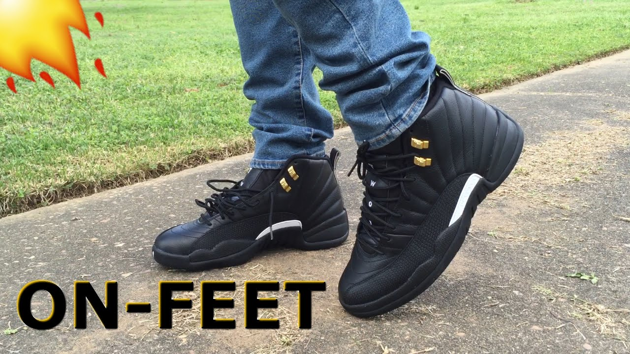 factory authentic 73d14 b3cbc Air Jordan 12 The Master On Feet