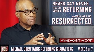 NEW STAR TREK: CAPTAIN WORF Details w/Michael Dorn: Who