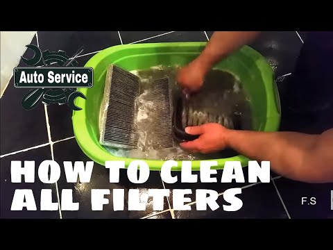 How to Clean Your Car's Air Filter