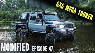 Mega 6x6 landcruiser review, modified episode 47