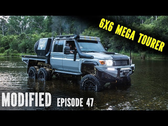 Patriot Campers Megatourer - 6X6 Land Cruiser Build