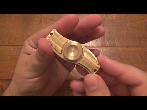 Custom Solid Brass Fidget Spinner Winner + More Spinner Giveaways!!!