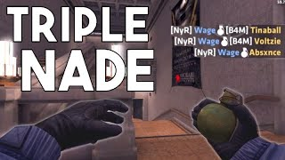 Critical Ops - TRIPLE NADE (Funny moments, highlights & more)