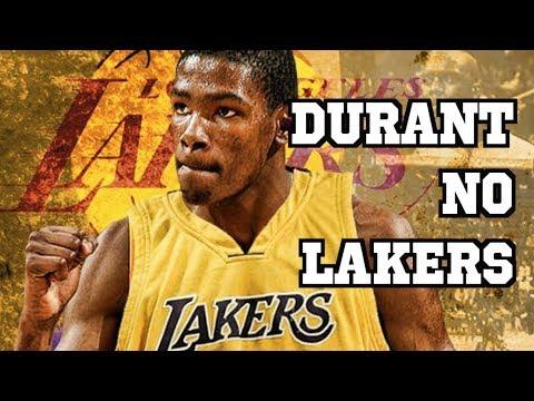 KEVIN DURANT NO LAKERS - RODADA NBA 18/19 #1