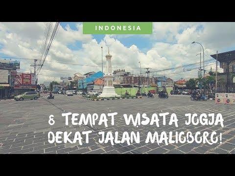 8 Tempat Wisata Jogja Dekat Jalan Malioboro! No 7 Gak Boleh Dilewatkan! [Travel Vlog Jogja]