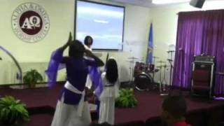 "Alpha & Omega Worship Center "" Praise Dance"".. I CHOOSE TO WORSHIP"