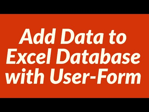 Add Data to Excel Database with UserForm using Countif Function