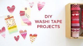 Easy DIY Washi Tape Ideas
