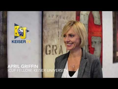 April Griffin, ICUF Fellow & KU Student, interviewed for #KeiserTV