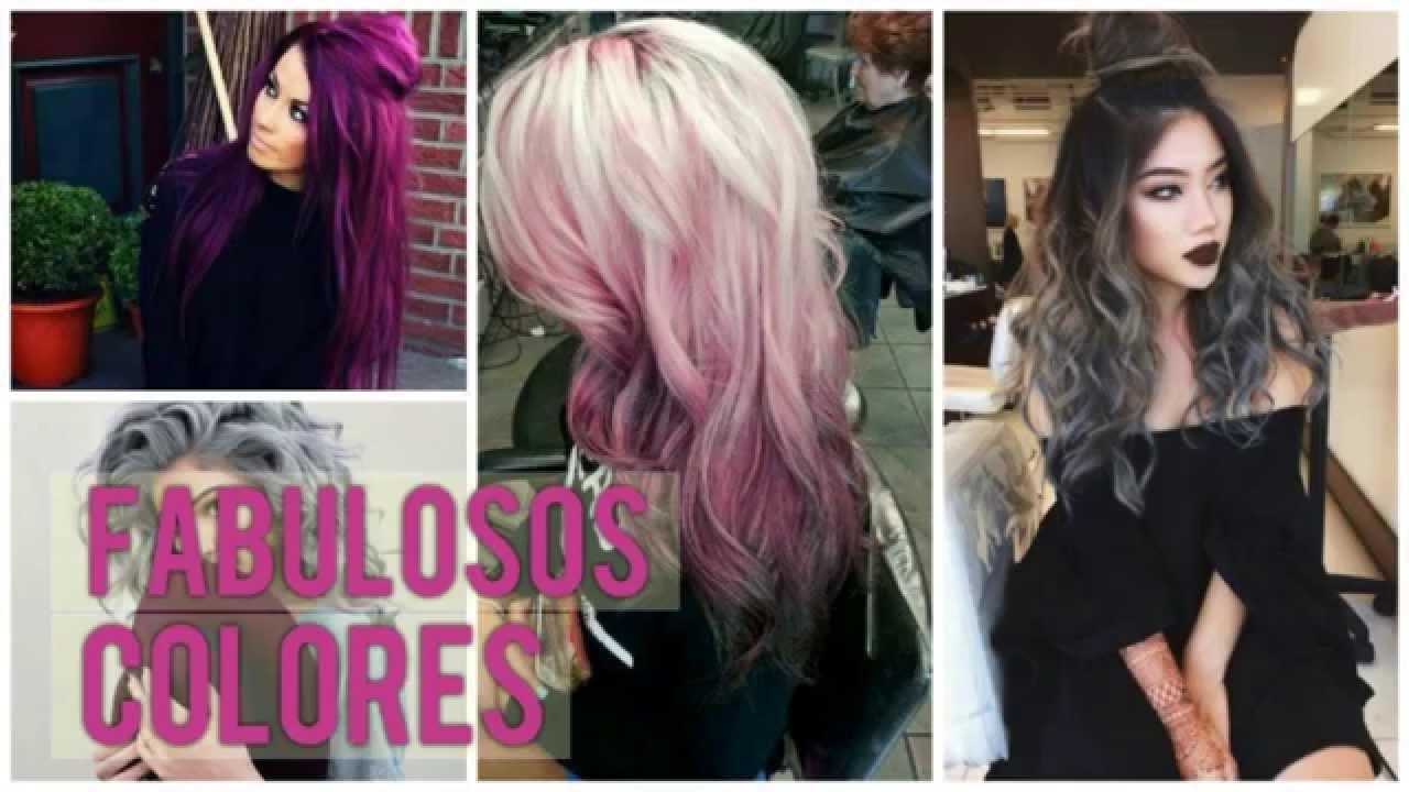 Colores para el cabello moda 2017 youtube - Colores de moda ...