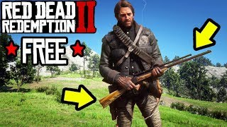 *FREE* RAREST SNIPER RIFLE IN RED DEAD REDEMPTION 2! RDR2 Best Gun Locations