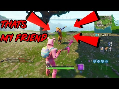 HOW TO GET IN THE SAME LOBBY AS YOUR FRIEND!! *UPDATED VERSION*