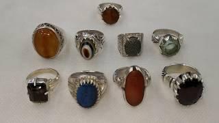 خواتم محابس احجار نادره وراقيه Rings, stone blocks, rare and elegant