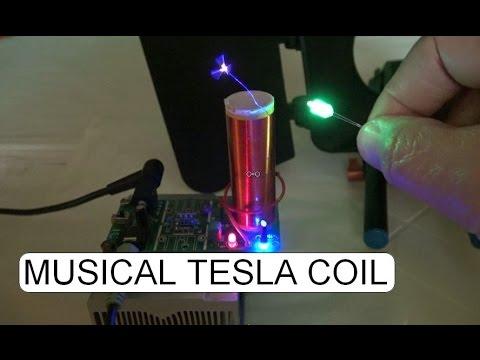 IN ACTION 15W MUSICAL TESLA COIL KIT D.I.Y.