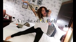 A CHEEKY NIGHT OFF, BATH VISIT & MINI-HAUL
