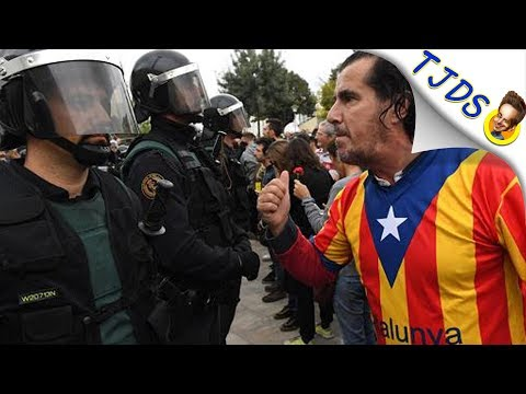 Why Spanish Cops Are Brutalizing Citizens For Voting