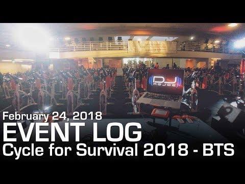Event Log #77 - Cycle For Survival 2018 - Equinox West LA