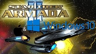 Run Star Trek Armada II on Windows 10 AND OSX (2015)
