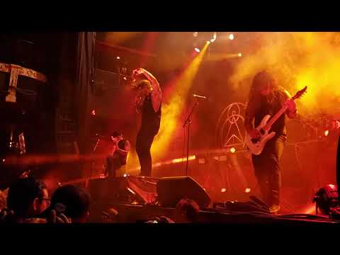 As I Lay Dying  11/15/2019 (Part #2) Shaped By Fire Tour