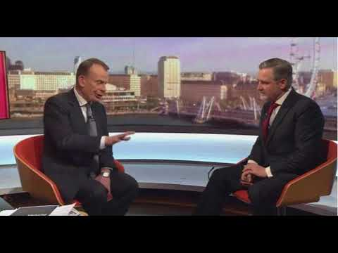 Barry Gardiner interviewed by Andrew Marr 26/12/17