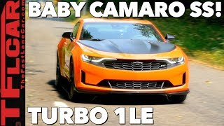2019 Chevy Camaro 2.0T 1LE Review: Speed and Handling on Turbocharged Budget!