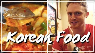 Eating Korean Food in Osaka, Japan