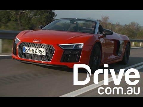 2017 Audi R8 V10 Spyder Review | Drive.com.au